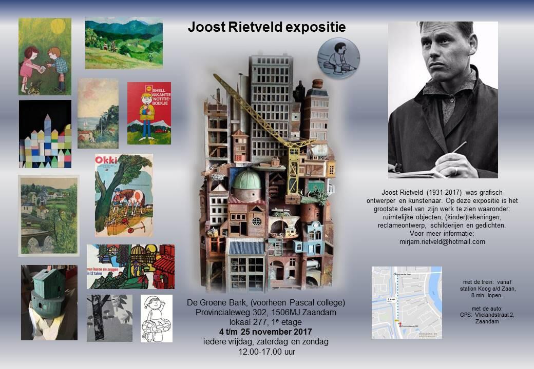expositie Joost Rietveld (oud bewoner IJsbaanpad)